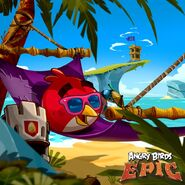 Red Summer Epic Poster