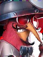 Flocker Regular EasterEggBird E2b Red