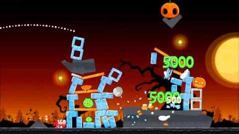 Official Angry Birds Seasons Walkthrough Trick or Treat 3-2