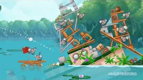 NEW! Angry Birds Rio - Blossom River episode out now!