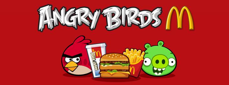 Angry Birds McDonald's