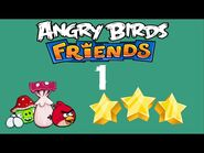 -1- Angry Birds Friends - Pig Tales - 0 birds - 3 star