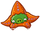 Angry Birds Fight! - Monster Pigs - Tired Seastar Pig