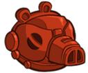 Bojowy droid (czerwony)