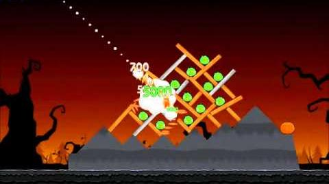 Official Angry Birds Seasons Walkthrough Trick or Treat 3-7