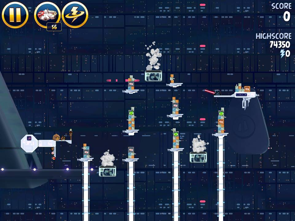Cloud City 4-40 (Angry Birds Star Wars)