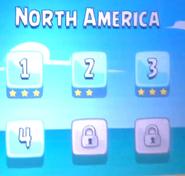North America Selección de Niveles