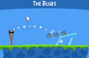 Синяя птица angry
