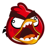 ABBlastStickers - Red Screaming