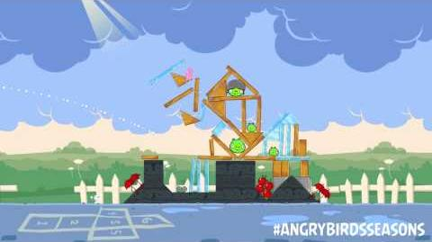 Angry Birds Seasons Back to School with the new Pink Bird-1