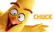 Chuck Angry Birds Movie Character