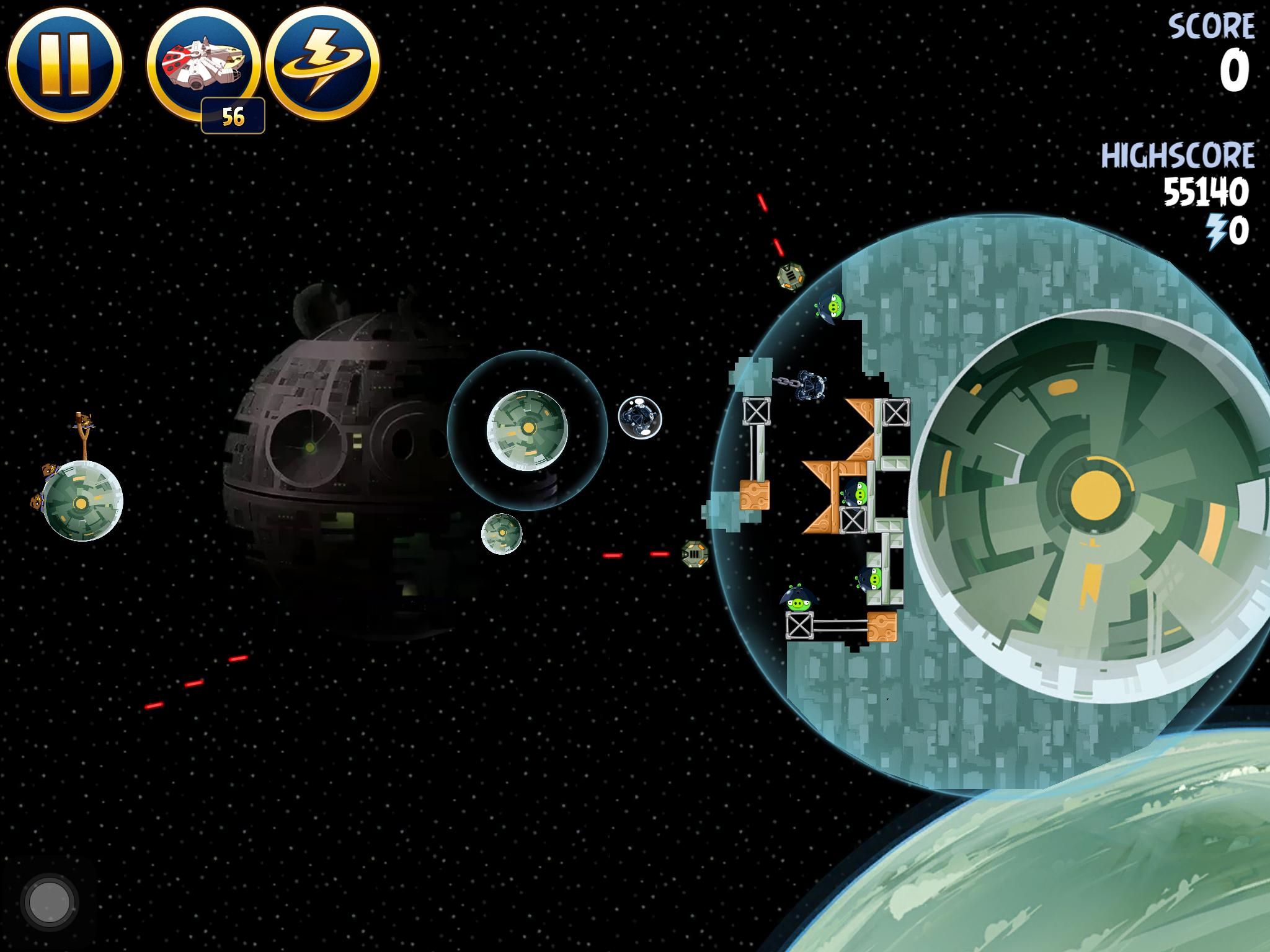 Death Star 2 6-5 (Angry Birds Star Wars)