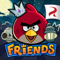 Angry Birds Friends Square Icon (Halloween)