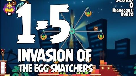Invasion of the Egg Snatchers 1-5