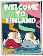 Плакат на финском льду номер 2
