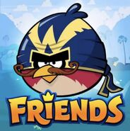 Angry Birds Friends Wingman Mustache Icon