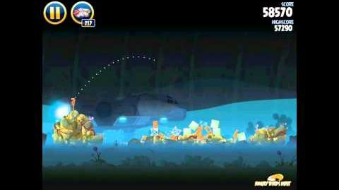 Hoth 3-33 (Angry Birds Star Wars)/Video Walkthrough