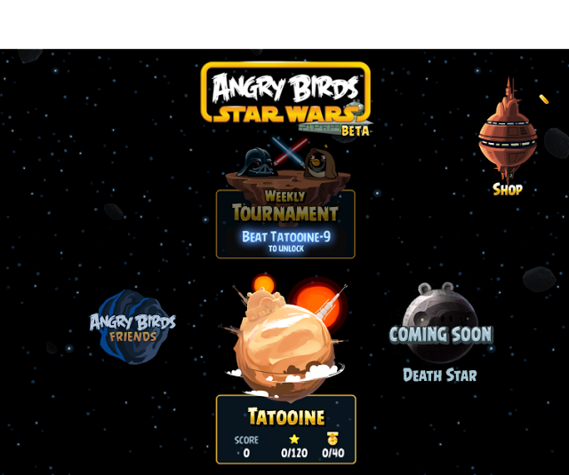 Angry Birds Star Wars Facebook