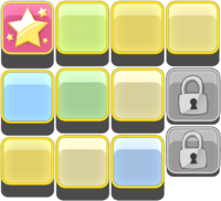 LEVELSELECTION SHEET LEVELBUTTONS NORMAL 1