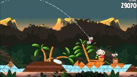 Official Angry Birds Rio Walkthrough Jungle Escape 4-1