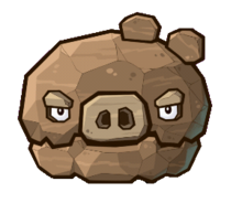 Angry Birds Fight! - Monster Pigs - Boulder Pig.png
