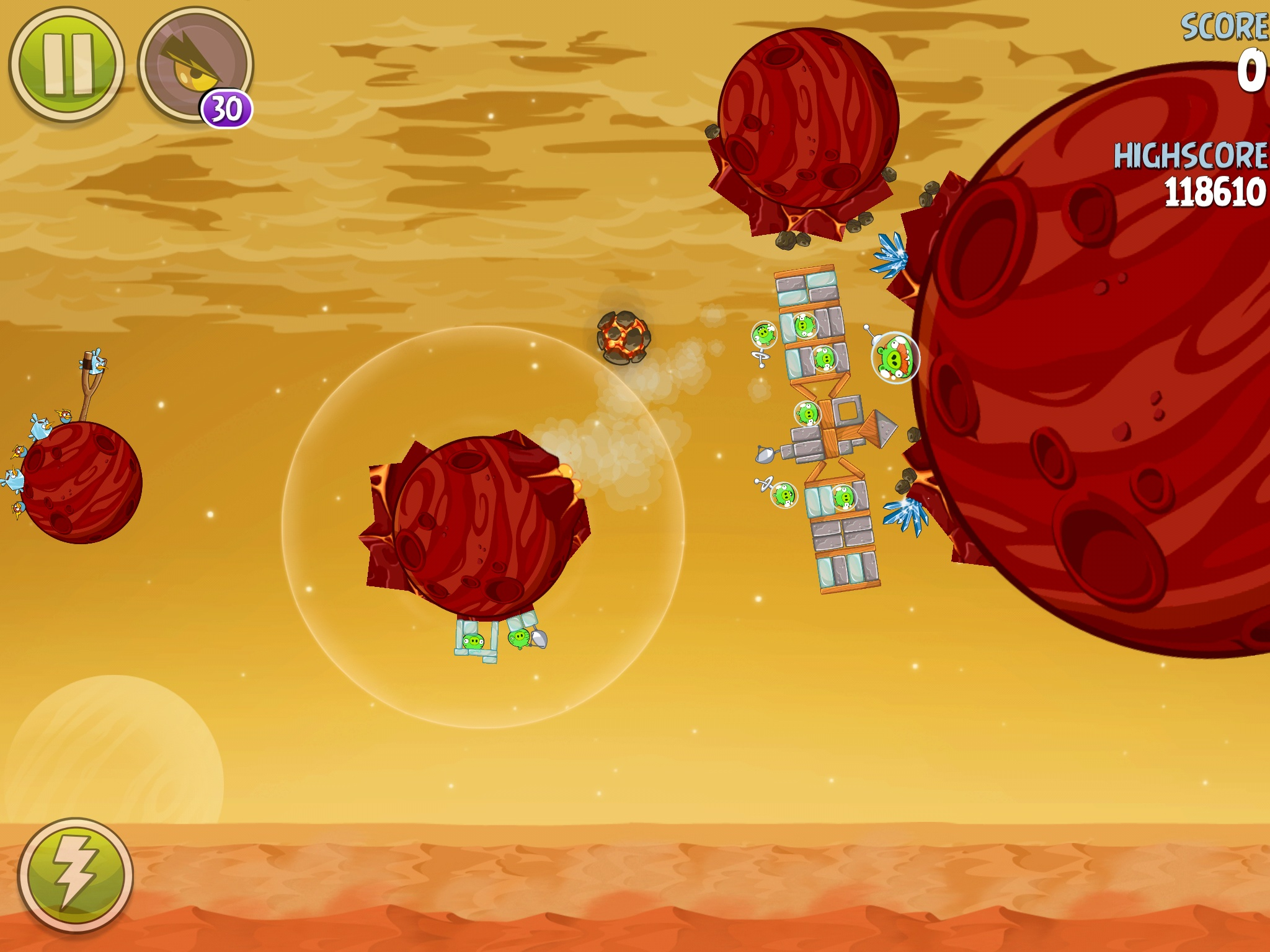Red Planet 5-18 (Angry Birds Space)   Angry Birds Wiki