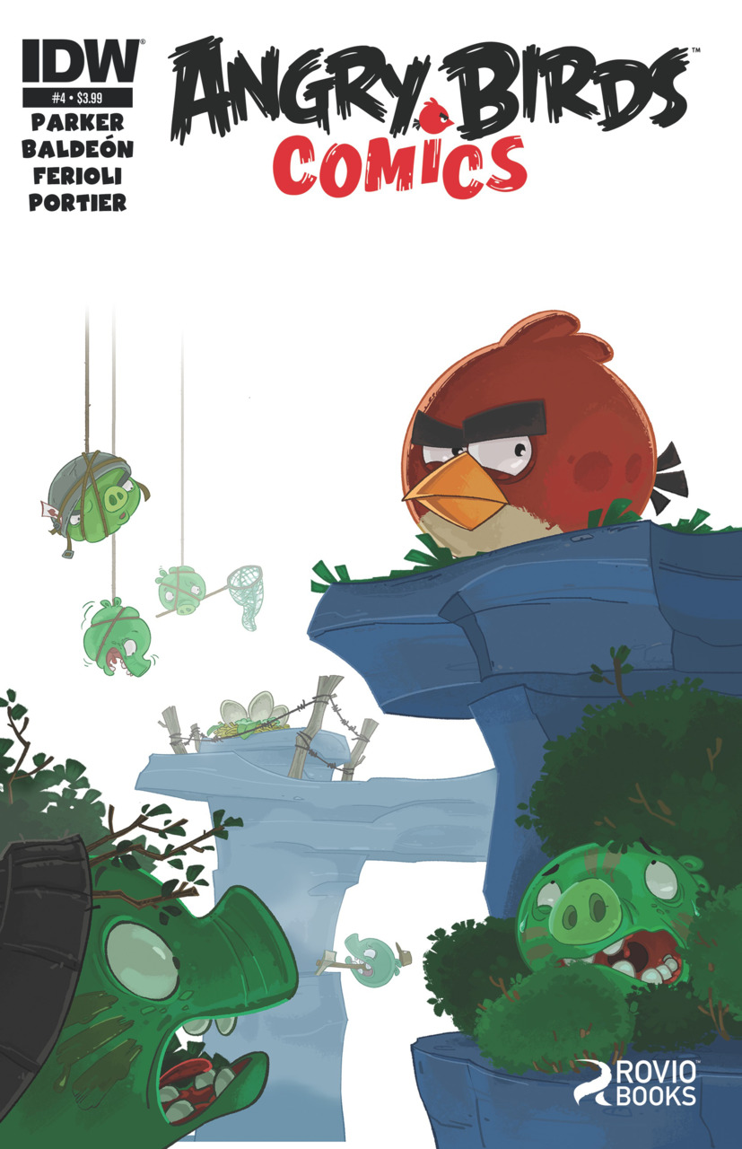 Angry Birds Comics Issue 4