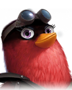 Flocker Red Portrait 018