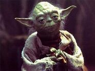 Master Yoda in the cinema