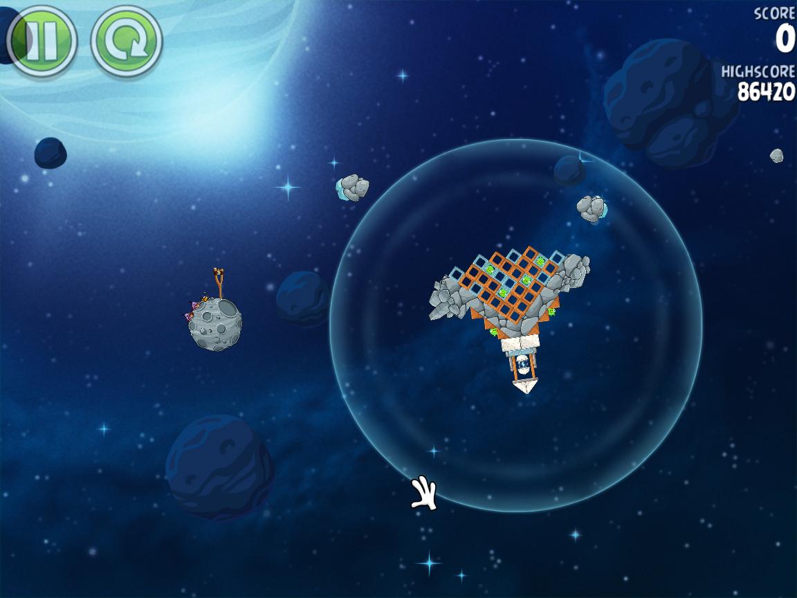 Beak Impact 8-35 (Angry Birds Space)