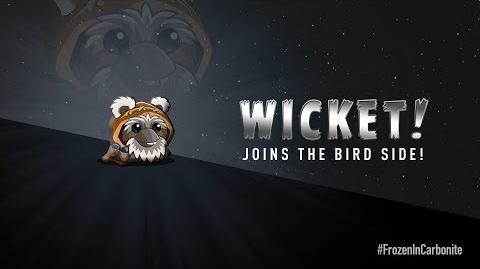 NEW! Angry Birds Star Wars 2 Carbonite Pack character reveals Wicket