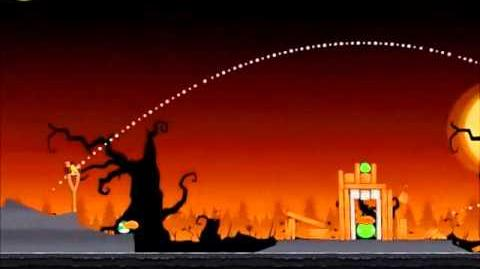 Official Angry Birds Seasons Walkthrough Trick or Treat 1-14