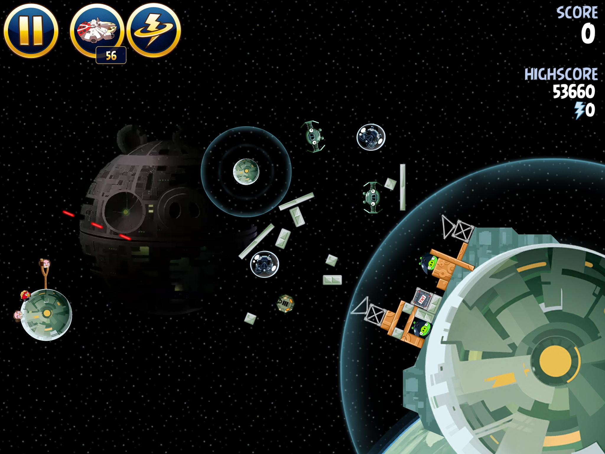 Death Star 2 6-4 (Angry Birds Star Wars)