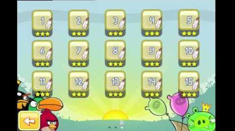 Angry Birds Golden Egg 11 Walkthrough