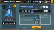Heavy Metal Annie Abilities