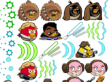 Angry Birds Star Wars/Unused Content