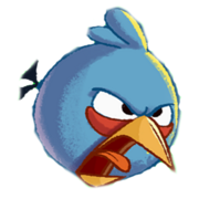 Blue Angry