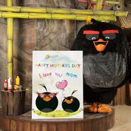 Angry Birds World Momb's First appearance