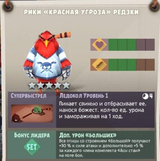 Рики «Красная угроза» Редзки