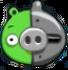 Cerdo Cyborg Sensor Apagado Angry Birds Seasons