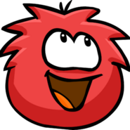 Red Puffle!