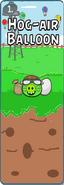1.Hog-air Baloon