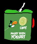 Angry Birds Lime Yogurt