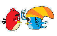 Red x Willow 4 (angry birds)