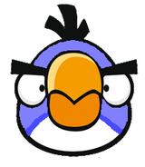 Lavender Boomerang Bird AB Fritos