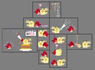 Red X Poppy Pixel Doodles