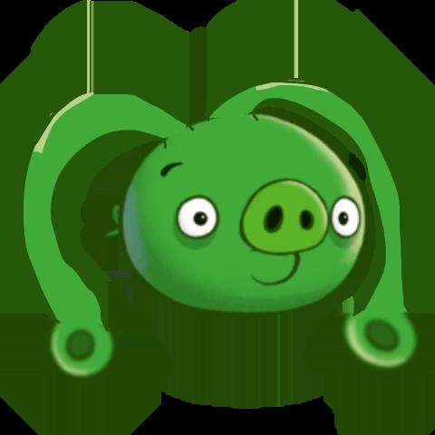 Ear-Legged Pig