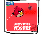 Angry Birds Yogurt