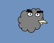 Chmuraśny ptak zły