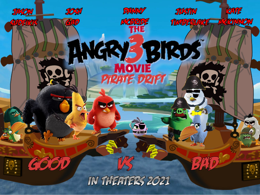 The Angry Birds Movie 3 : Pirate Drift